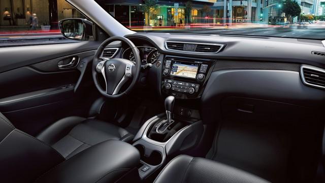2016 Nissan Rogue Hybrid Interior