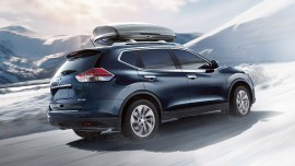 2016-Nissan-Rogue-Hybrid rear