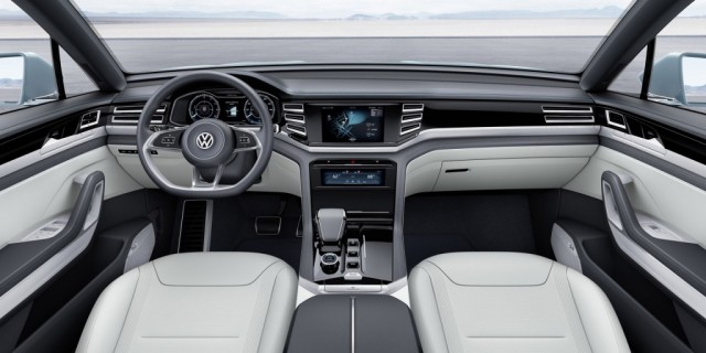 2017 Volkswagen Tiguan -- Redesigned SUV Gets Third Row ...