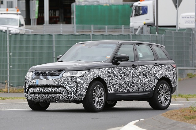 2017 Land Rover Range Sport Exterior And Interior Changes