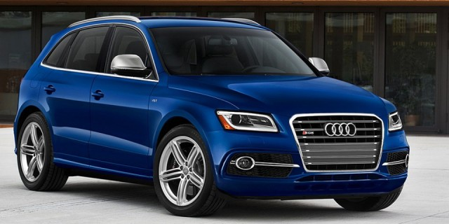 2017 audi sq5 redesigned suv gets more power amazing styling changes and better tech suvs. Black Bedroom Furniture Sets. Home Design Ideas