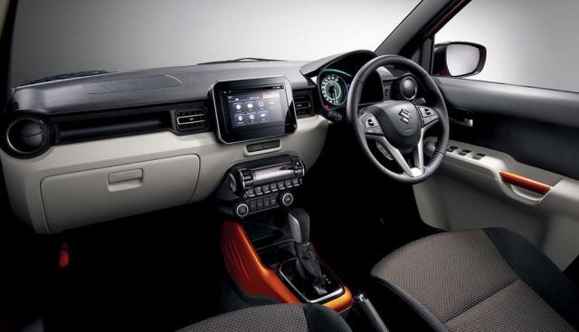 2016 Suzuki Ignis interior
