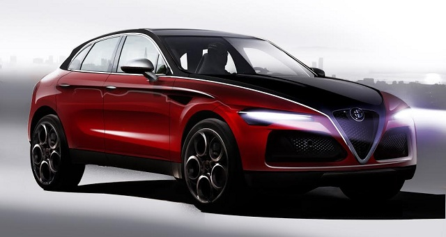 2017 alfa romeo small suv prototype spotted latest details and rumors 2017 alfa romeo. Black Bedroom Furniture Sets. Home Design Ideas