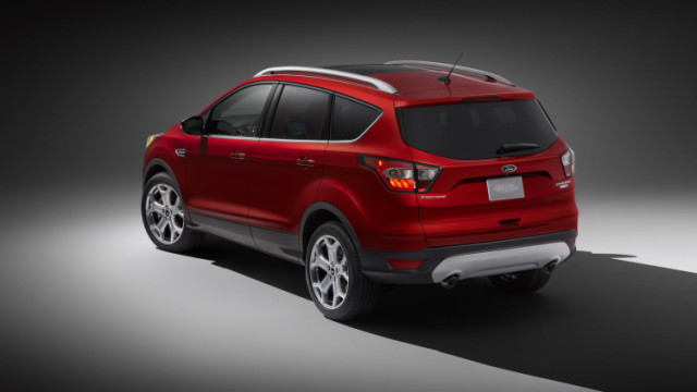 2017 Ford Escape updates