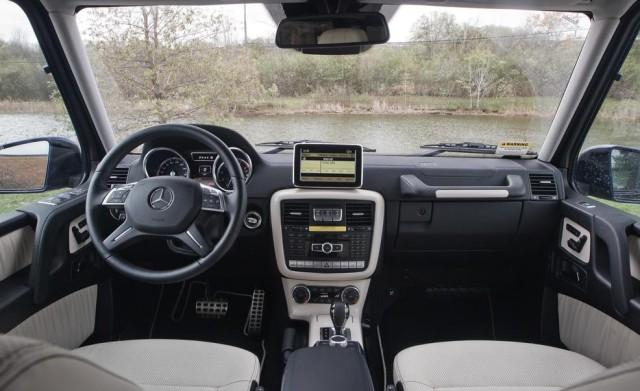 2017 Mercedes-Benz G-wagen interior