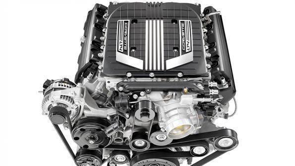 2017 Cadillac Escalade V engine