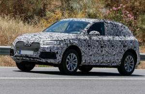 2018 Audi RS Q5 spy