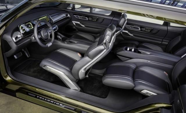 2018 Genesis SUV interior