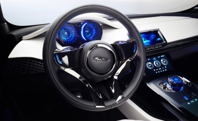 2018 Jaguar E-Pace interior-dash