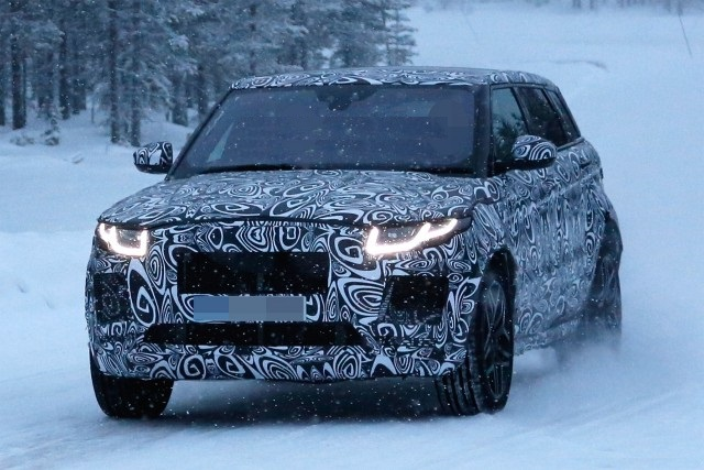 2018 Jaguar E-Pace spy