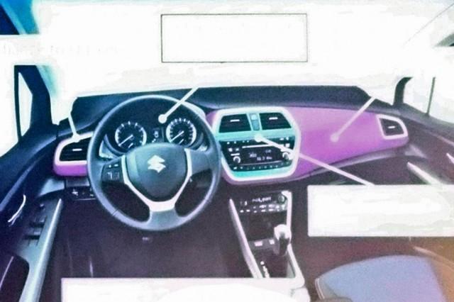 2016 Suzuki SX4 S-Cross interior