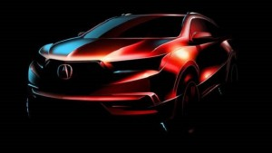 2017 Acura MDX teaser