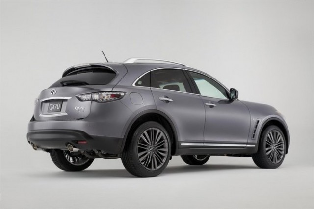 2017 Infiniti QX70 Limited rear