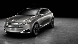 2017 Peugeot 6008 concept