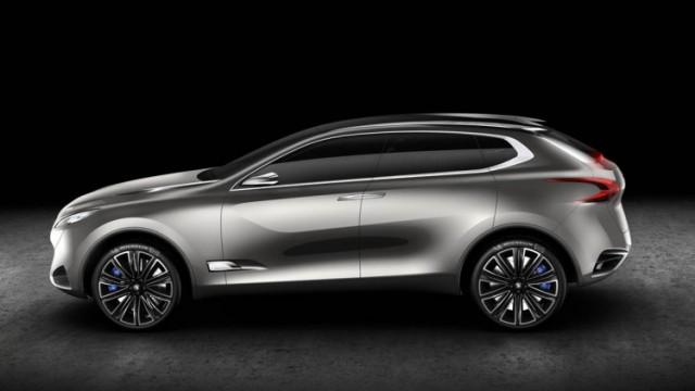 2017 Peugeot 6008 side