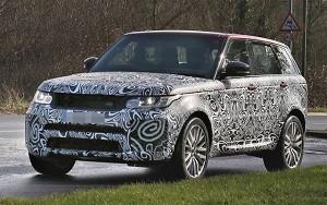 2018 Land Rover Range Rover Sport SVR refresh spy