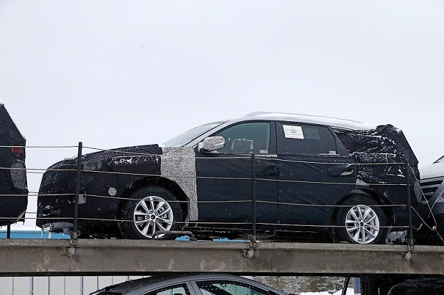 2018 Kia Sorento SUV spy