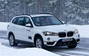 2017 BMW X1 Plug-In Hybrid spy