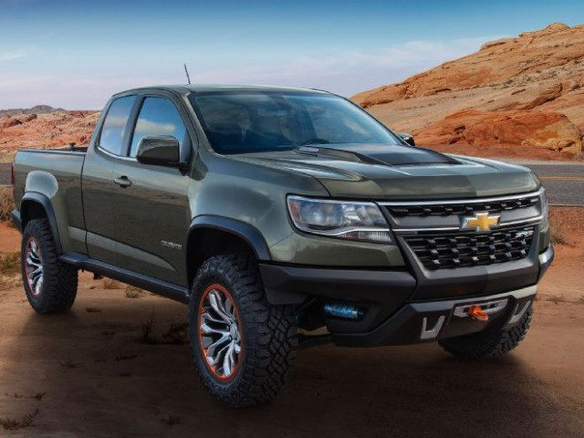 2017 chevrolet colorado zr2 jumps into production guise suvs trucks. Black Bedroom Furniture Sets. Home Design Ideas