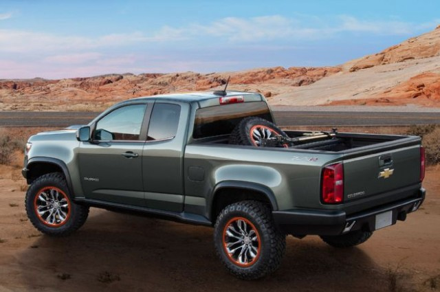 2017 chevrolet colorado zr2 jumps into production guise. Black Bedroom Furniture Sets. Home Design Ideas
