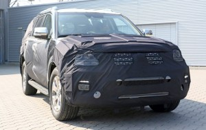 2017 Kia Mohave (Borrego) spy2