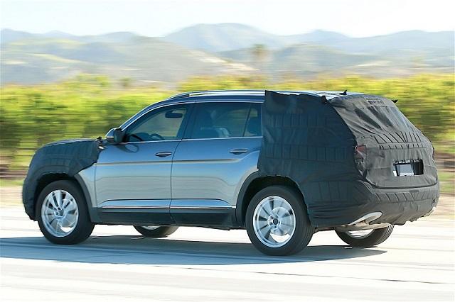 2017 VW CrossBlue spy