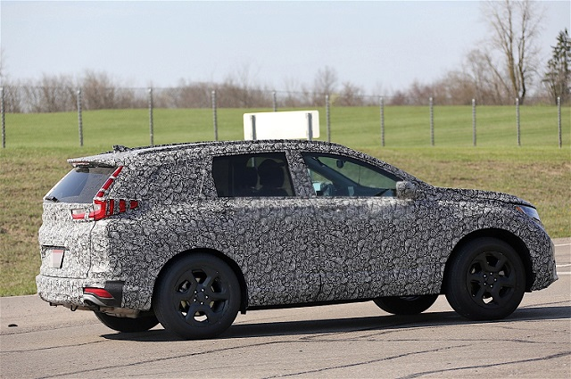 2018 Honda CR-V spy