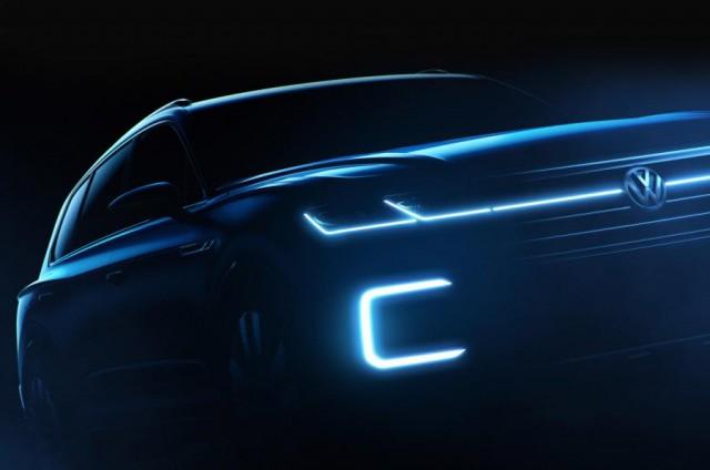 2018 VW Touareg concept (teaser)