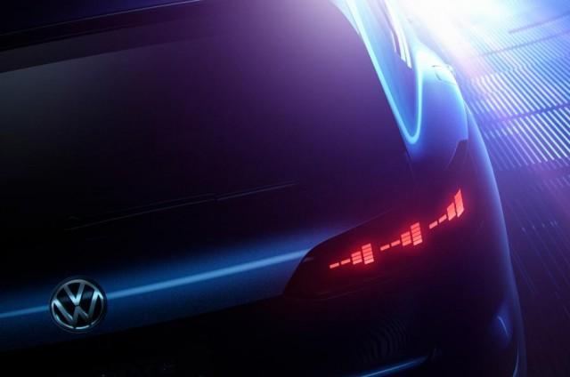 2018 VW Touareg concept (teaser rear)