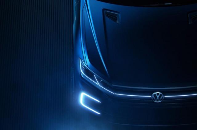 2018 Volkswagen Touareg concept (teaser)