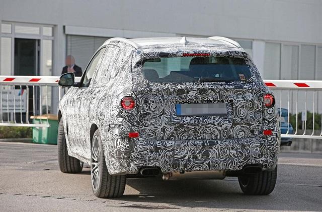 2019-BMW-X3-M-spy rear