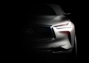 Infiniti QX Sport Inspiration concept teaser