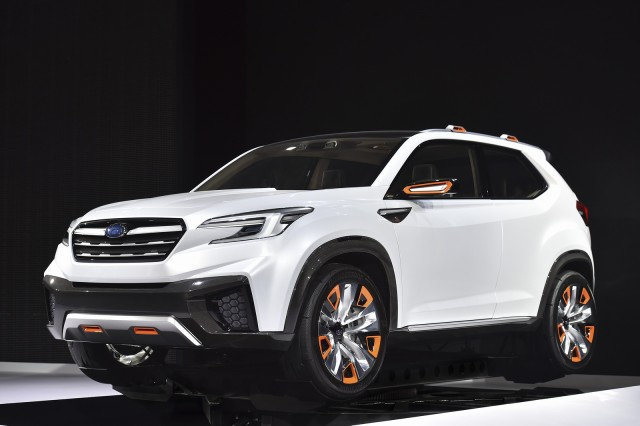 next mid size subaru suv will look like the viziv concept suvs trucks. Black Bedroom Furniture Sets. Home Design Ideas