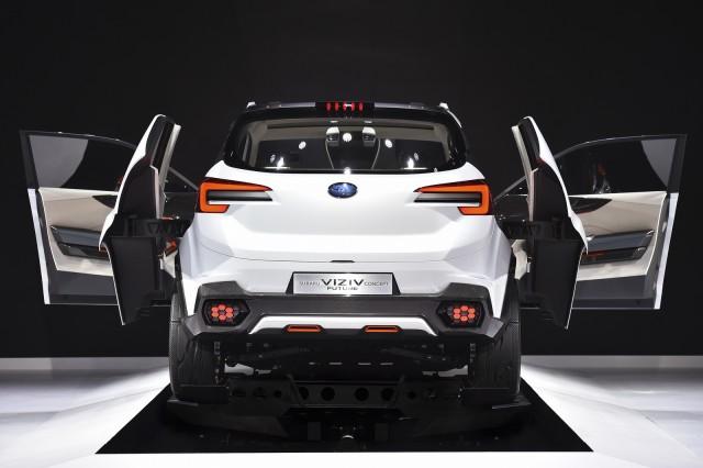 Next Mid-Size Subaru SUV will look like the Viziv concept ...
