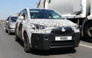 2017 Opel Meriva spy
