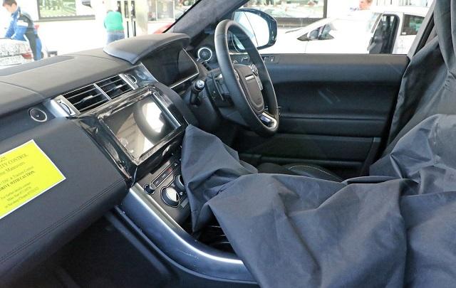 2017 Range Rover Sport interior redesign