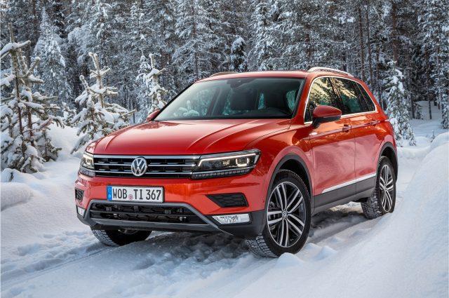 2017 Volkswagen Tiguan Euro Specs