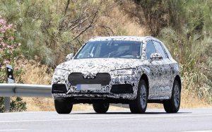2018 Audi Q5 spy