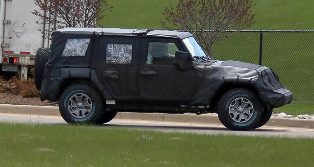 2018 Jeep Wrangler Unlimited spy