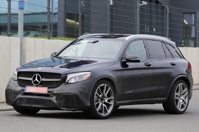 2018 Mercedes-AMG GLC63 and GLC63 S: Spy and Specs   SUVs ...