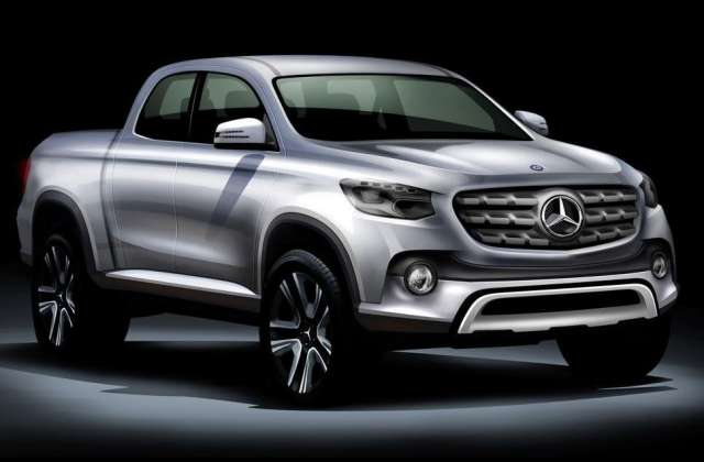 2018 mercedes benz pickup truck spy and rumors suvs trucks for Mercedes benz pickup truck