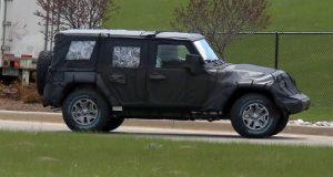 2018 Jeep Wrangler spy
