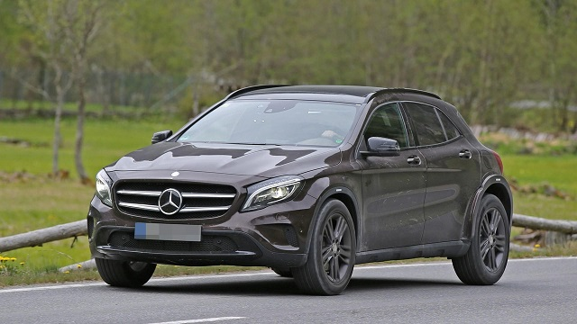 2019 mercedes benz glb prototype spied for the first time for How long does it take to build a mercedes benz