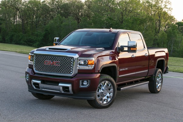 2017 GMC Sierra Denali 2500HD refresh
