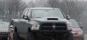 2018 Ram Power Wagon Hellcat spy