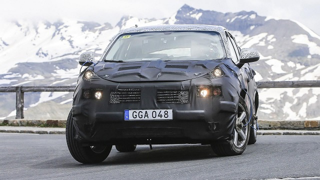 2018 Volvo XC40 spy
