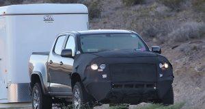 2017 Chevy Colorado ZR2 spy