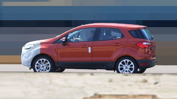 2017 Ford EcoSport refresh