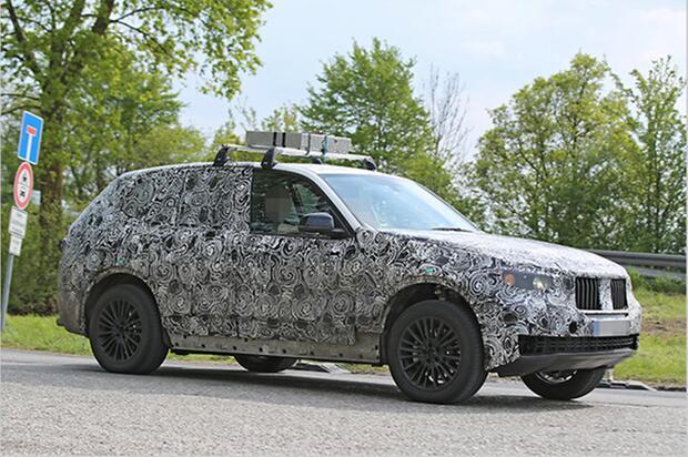 2018 BMW X5 spy