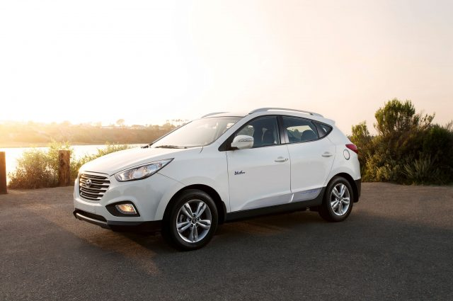 , 2018 Hyundai Tucson fuel-cell